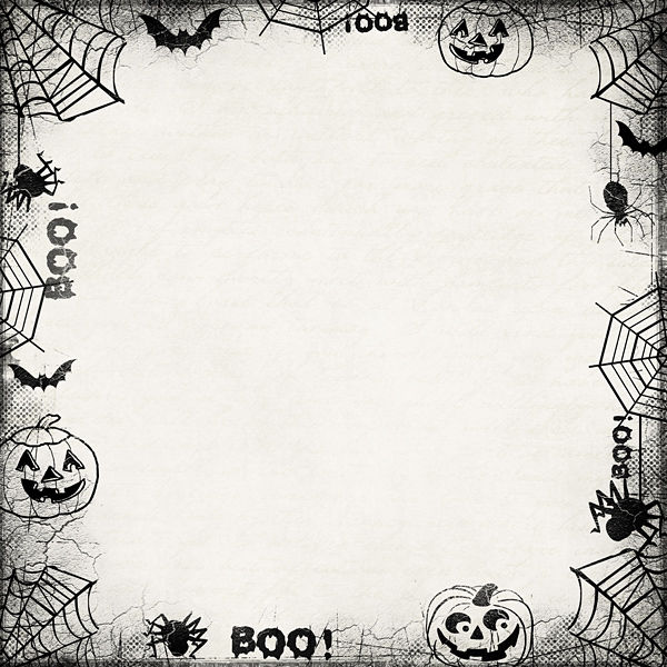Modest image regarding free printable halloween borders