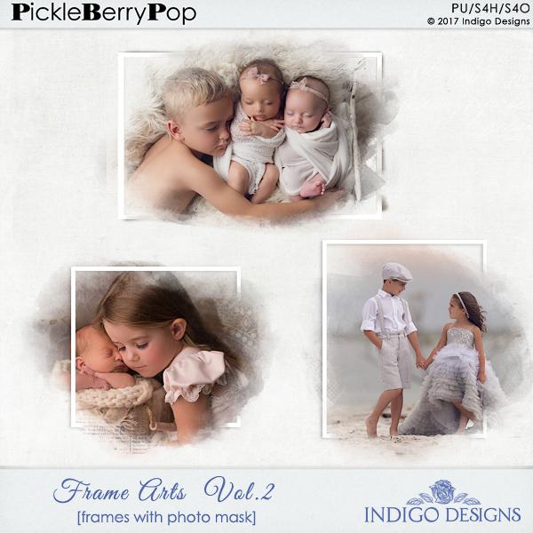 Pickleberrypop :: Element Packs :: *Frames :: Bundle Frame Art by ...