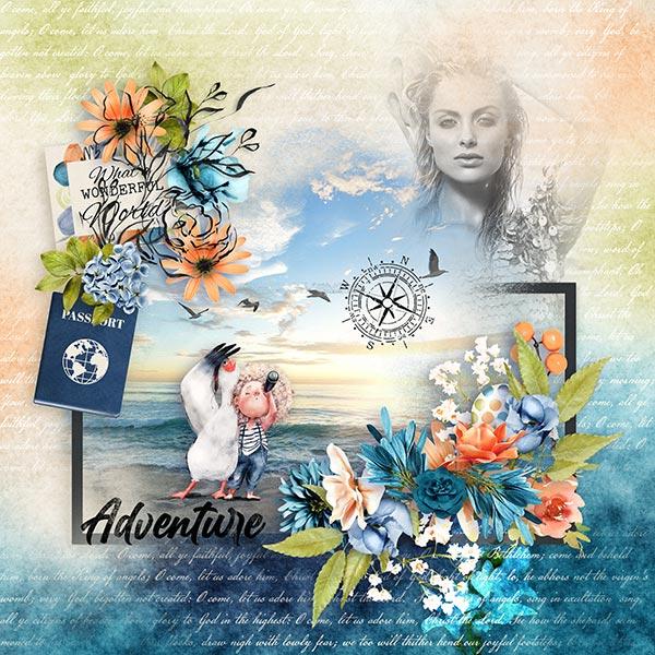 Layout art created by Olivia123