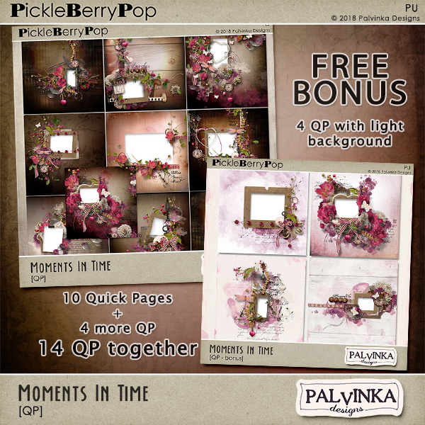 Re-release - Moments In Time Collection by Palvinka Designs