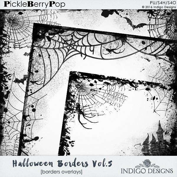 Pickleberrypop :: Element Packs :: *Borders/Edges :: Halloween ...