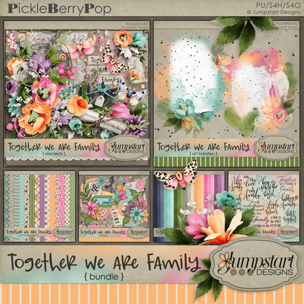 Together We Are Family {Bundle} by Jumpstart Designs