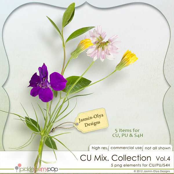 CU Mix Collection Vol.4 (Jasmin-Olya Designs)