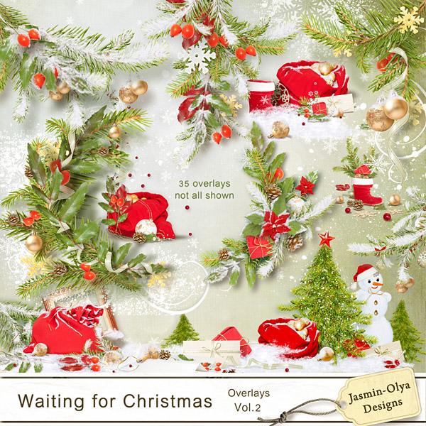 Waiting for Christmas - Overlays Vol.2