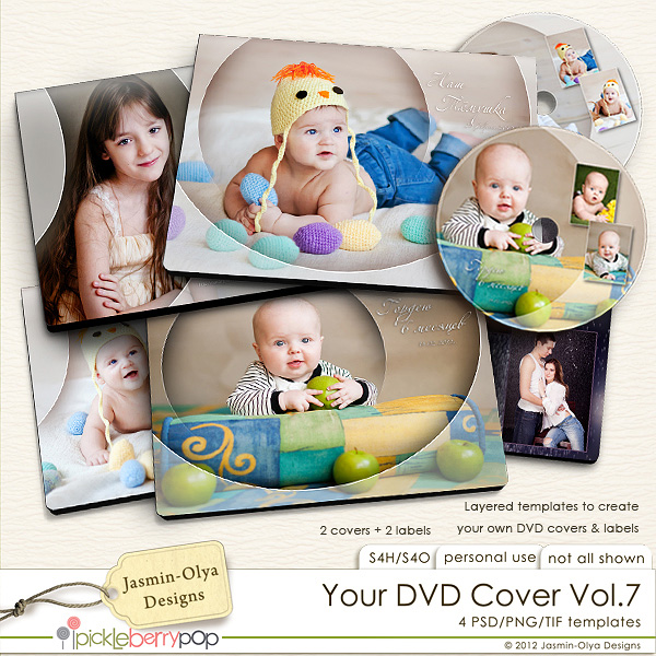pickleberrypop templates your dvd cover vol 7 jasmin olya