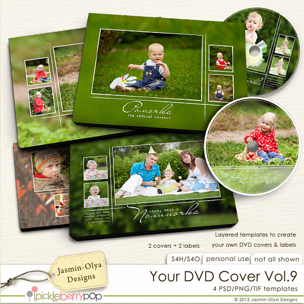pickleberrypop hybrid printables your dvd cover vol 9 jasmin