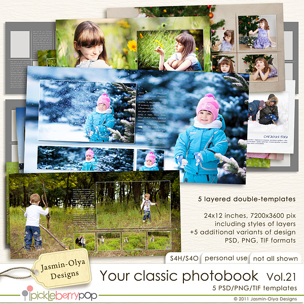 Your classic photobook Vol.21 (Jasmin-Olya Designs)