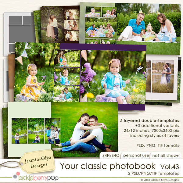 Your classic photobook Vol.43 (Jasmin-Olya Designs)