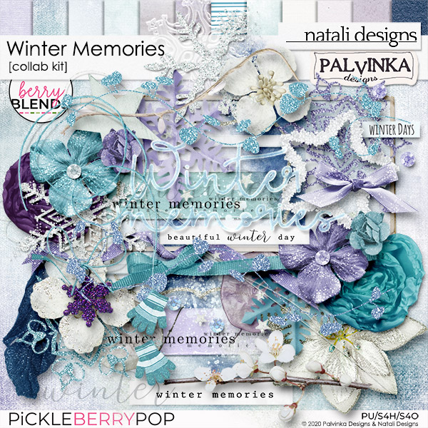 Winter Memories, A Berry Blends Collab Kit