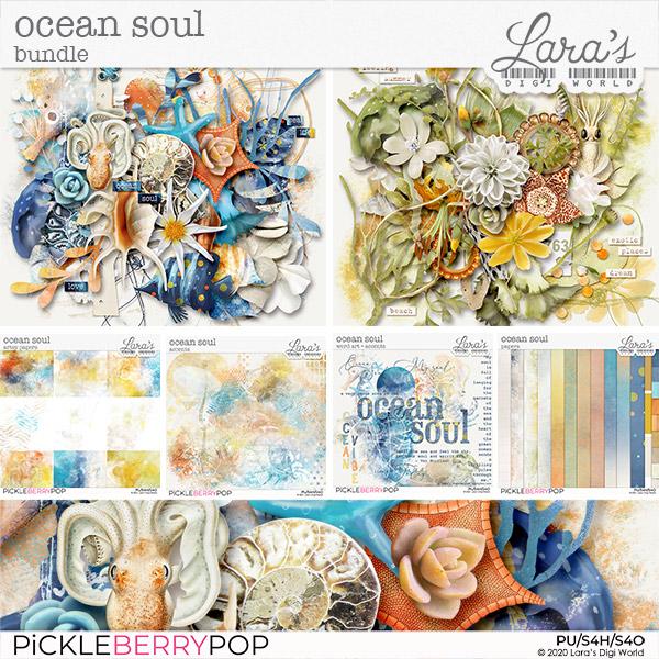 Ocean Soul Bundle by Lara's Digi World