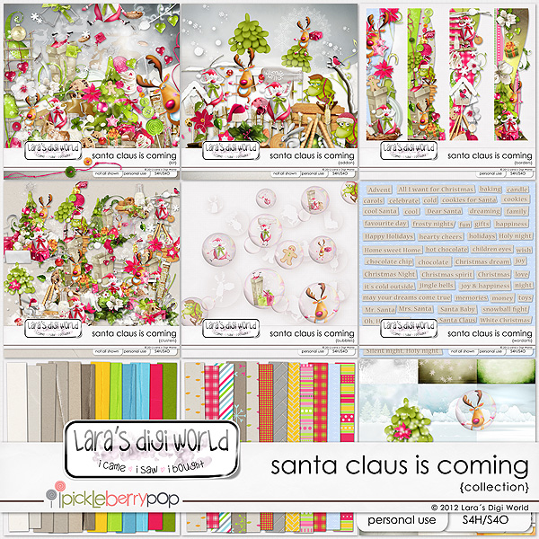 Santa Claus is coming collection by Lara´s Digi World