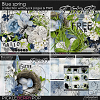 Blue spring - collection with quick pages & FWP