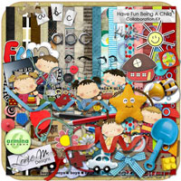 Have Fun Being A Child Collaboration Kit