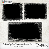 Beautiful Memories Photo Masks Vol.20