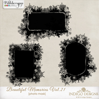 Beautiful Memories Photo Masks Vol.21