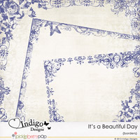 It's a Beautiful Day Border Overlays