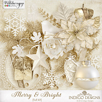 Merry & Bright Full Kit by Indigo Designs