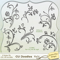 CU Doodles Vol.5