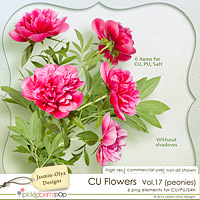 CU Flowers Vol.17 (Jasmin-Olya Designs)