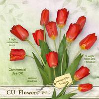 CU Flowers Vol.5 (Tulips)