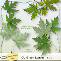 CU Green Leaves Vol.3 (maple)