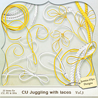 CU Juggling with Laces Vol.3 (Jasmin-Olya Designs)