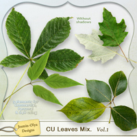 CU Leaves Mix. Vol.1