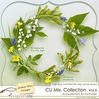CU Mix Collection Vol.5 (Jasmin-Olya Designs)