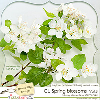CU Spring Blossoms Vol.3 - apples (Jasmin-Olya Designs)