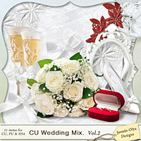 CU Wedding Mix. Vol.2 (Jasmin-Olya Designs)