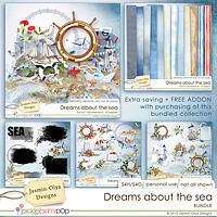Dreams about the sea - BUNDLE (Jasmin-Olya Designs)