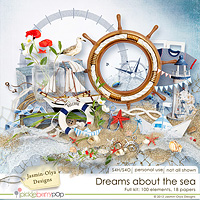Dreams about the sea - The kit (Jasmin-Olya Designs)