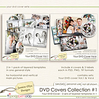 DVD Covers Collection #1 (Jasmin-Olya Designs)