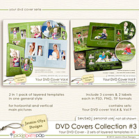 DVD Covers Collection #3 (Jasmin-Olya Designs)