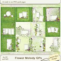 Flower Melody QPs (Jasmin-Olya Designs)