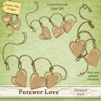 CU Forewer Love - elements pack