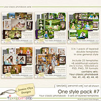 One style pack #7 (Jasmin-Olya Designs)