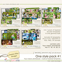 One style pack #1 (Jasmin-Olya Designs)