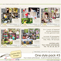 One style pack #3 (Jasmin-Olya Designs)