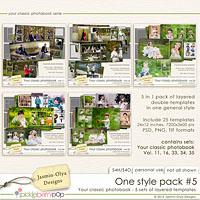 One style pack #5 (Jasmin-Olya Designs)