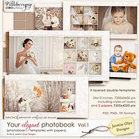 Your elegant photobook Vol.1 (Jasmin-Olya Designs)