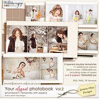 Your elegant photobook Vol.2 (Jasmin-Olya Designs)