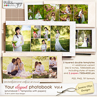 Your elegant photobook Vol.4 (Jasmin-Olya Designs)