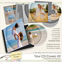 Your CD Covers #2 (Jasmin-Olya Designs)