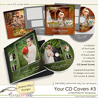 Your CD Covers #3 (Jasmin-Olya Designs)