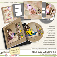 Your CD Covers #4 (Jasmin-Olya Designs)