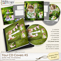 Your CD Covers #5 (Jasmin-Olya Designs)