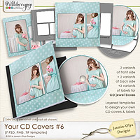 Your CD Covers #6 (Jasmin-Olya Designs)