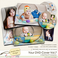 Your DVD Cover Vol.7 (Jasmin-Olya Designs)