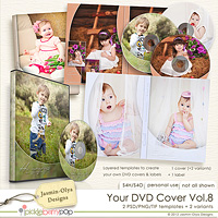 Your DVD Cover Vol.8 (Jasmin-Olya Designs)